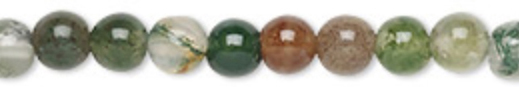 8mm Round Fancy Jasper Supreme Nurturer - Tranquility - Wholeness - rotection - Grounding Chakras - All Chakras