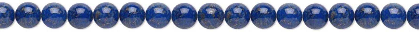 6mm Lapis Lazuli meaning - Enlightenment - Physic Abilities - Power - Serenity - Reverse Curses - Chakras - Opens Third Eye & Balances Throat
