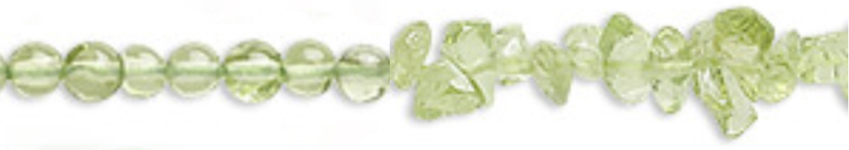 Round Peridot Beads Meaning - Protective, Cleansing, Focus, Spiritual, Purpose