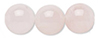 6mm Round Rose Quartz is said to increase overall fertility, heal heartache, encourage unconditional love, provide protective energy and remove fears.