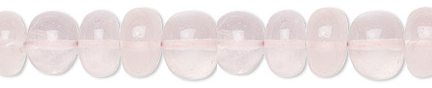 6mm Round Rose Quartz is said toUnconditional Love - Peace - Healing - Calming - Relationships