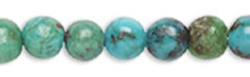 Turquoise Round 4mm Beads for Necklaces, Bracelets and Earrings
