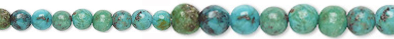 Turquoise Healing - Protective - Spiritual - Communication - Intuition	 and is said to provide protection and is a grounding stone and known to aid in fertility.