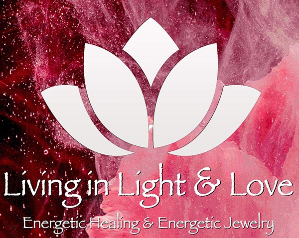 Living In Light and Love Logo - Energetic Healing & Energetic Jewelry